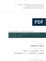 Seismic Performance of Steel Pallet Racks Grecia