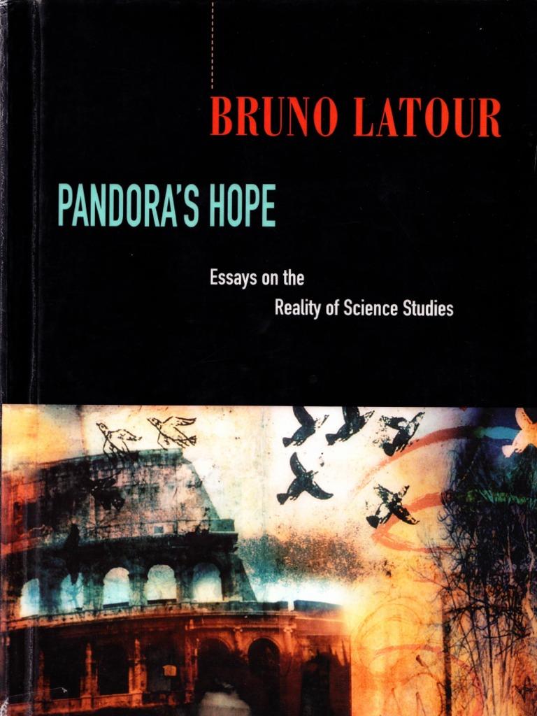 bruno latour pandora s hope