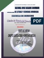 Fuentes Del Derecho UNJBG