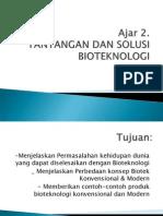 Tantangan Dan Solusi Biotek
