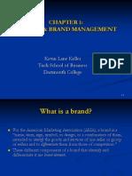 Chap 01 Brand Management
