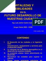 Futuro de Nuestras Ciudades (Conferencia en 2001)