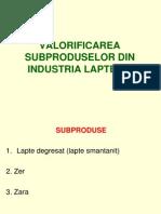 Subproduse Din Industria Laptelui -1