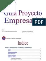 Guia de Proyecto Empresarial
