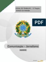 COMUNICAÇÃO - JORNALISMO