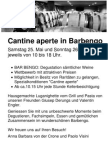 Cantine Aperte in Barbengo