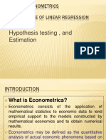 Basic Econometrics Health