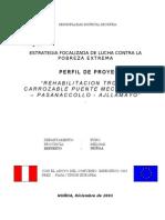 Rehabilitacion Trocha Carrozable Puente Meccachaca - Pas~311