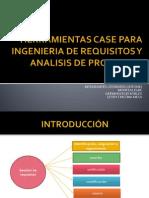 Herramientas Case Para Ingenieria de Requisitos y Analisis de Proyectos