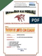 Tratado Limitrofe Con Ecuadorr