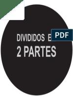 Divididos Em Duas Partes Cori