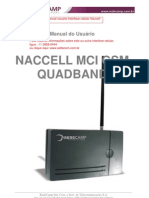 Manual Interface Naccell Quadband