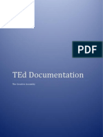 TEd Documentation 1.0