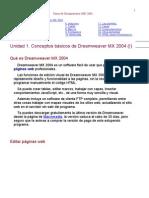 Curso de Dreamweaver Mx 2004