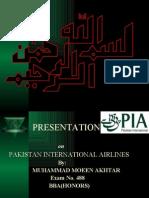 PIA Presentation Internship