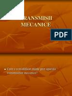 Transmisie Mecanica