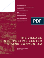 Grand Canyon Village Interpretive Center Concept Plan
