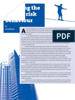 Breaking the Cycle of Risk