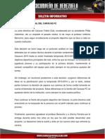 Comunicado Oficial Del Caracas Fc