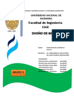 INFORME-concreto DISEÑO DE MEZCLA