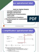 L'amplificateur opérationnel idéal