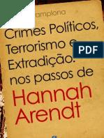 Crimes Políticos, Terrorismo e Extradição