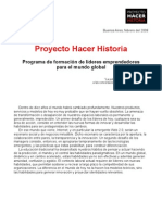 Proyecto Hacer Historia