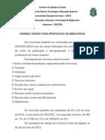 Normas para confecção de trabalhos da VI Semana de Educação do Cecitec.docx
