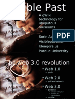 gWiki technologies for ubiquitous museums