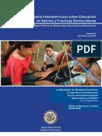 Educación en Derechos Humanos OEA-2013