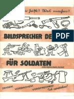 Bildsprescher deutsch für Soldaten -  Grundausbildung (1944)
