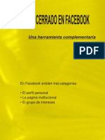 Facebook Grupos Instructivo