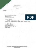 Vito Lopez Resignation Letter