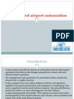GSM Based Airport Automation