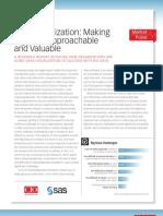 Data Visualization Making Big Data