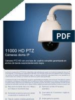 11000 HD PTZ Camera Datasheet Spanish Final