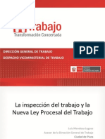 La Inspeccion Laboral