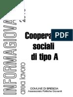 Cooperative Sociali Di Tipo A