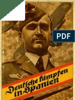 Deutsche kämpfen in Spanien