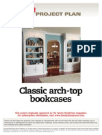 Classic Arch-Top Bookcases - FH07DJA