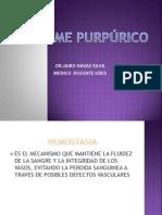 Sindrome Purpurico Clase Udes 2013