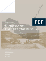Grand Canyon River Heritage Museum Feasibility Study