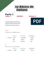 Curso Básico De Italiano (Em Portugues).doc