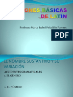 Nociones Basicas de Latin