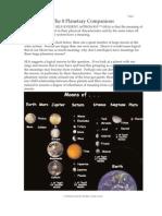Planetary Companions