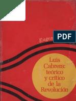 Meyer Eugenia Luis Cabrera Teorico y Critico de La Revolucion 238