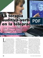 La terapia auditiva-verbal en la telepráctica