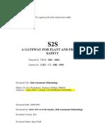 Report on Risk Assessment Methodology