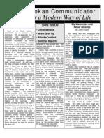 The Seidokan Communicator, September 2003