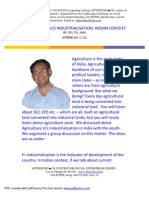 Agriculture and Industrial is at Ion in India